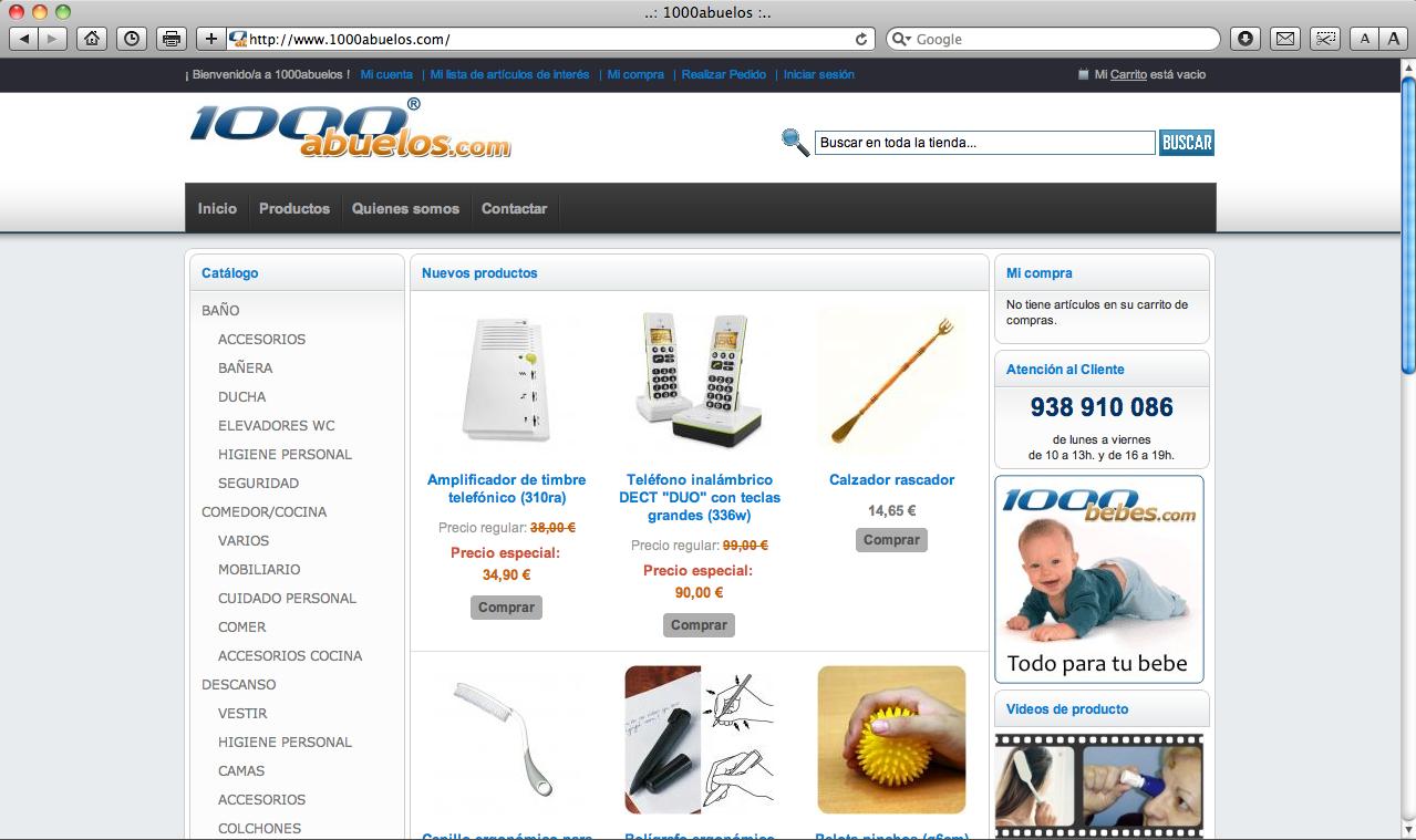 www.1000abuelos.com